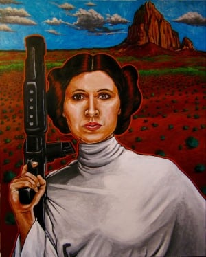 Ryan Singer Princess Leia