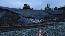 Shawnigan Lake contaminated soil site