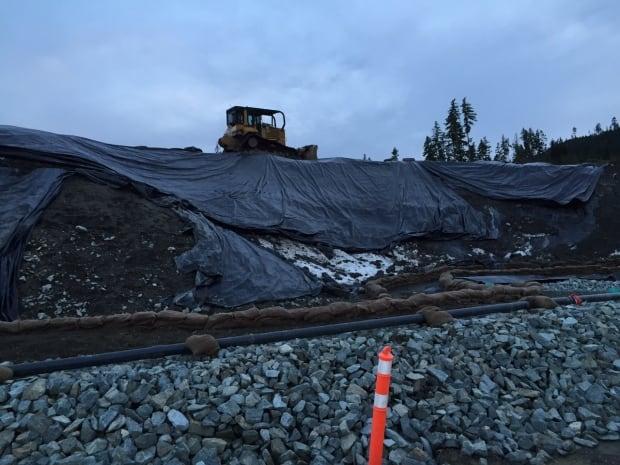 Shawnigan Lake contaminated soil site