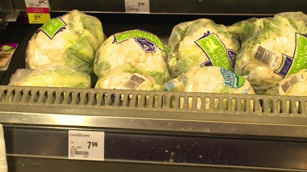 cauliflower at Sobeys
