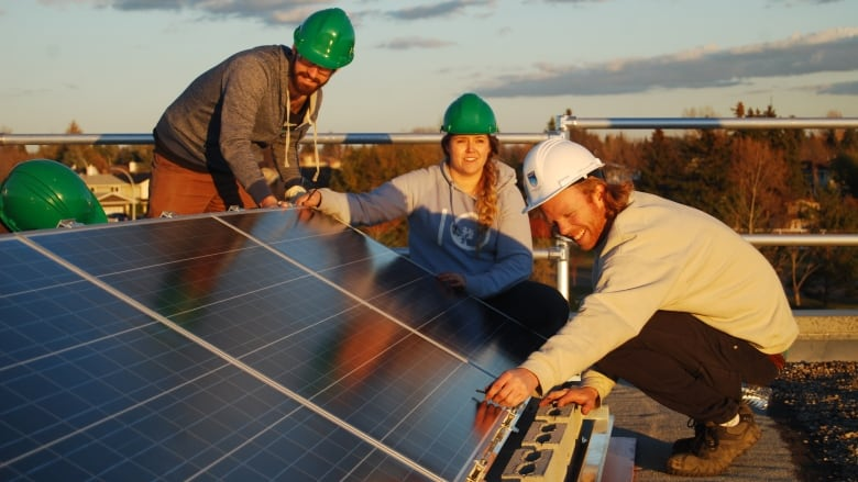 Students In The Nait Program Learn About Solar Geothermal