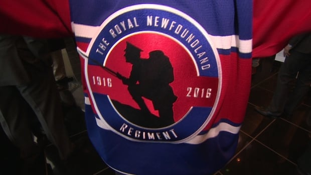 This new IceCaps jersey commemorates the 100th anniversary of the Battle of Beaumont Hamel.
