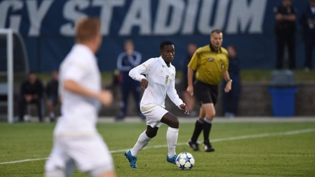 Toronto native Richie Laryea was the top Canadian pick in the MLS SuperDraft, going seventh to the Orlando City SC Lions where he rejoins his best friend Cyle Larin.