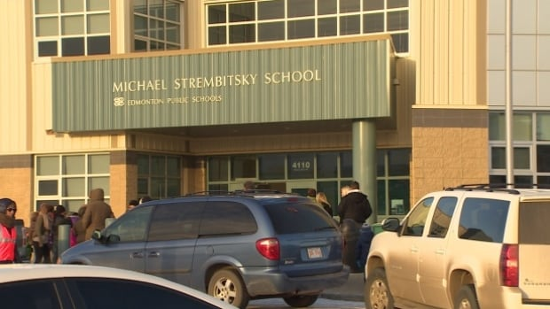 Overcrowding at Michael Strembitsky School in south Edmonton has forced the school to send some of it students to other institutions for the 2016-17 academic year.