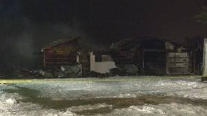 Mount Forest barn fire