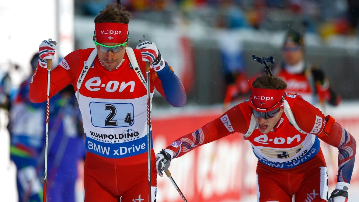 Norway Powers To Men S World Cup Biathlon Relay Win Cbc