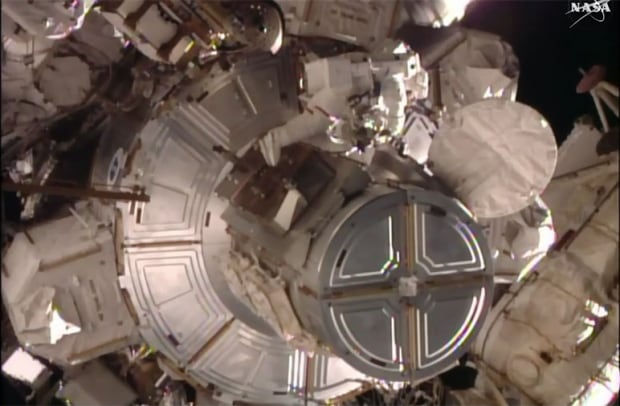 Tim Kopra spacewalk