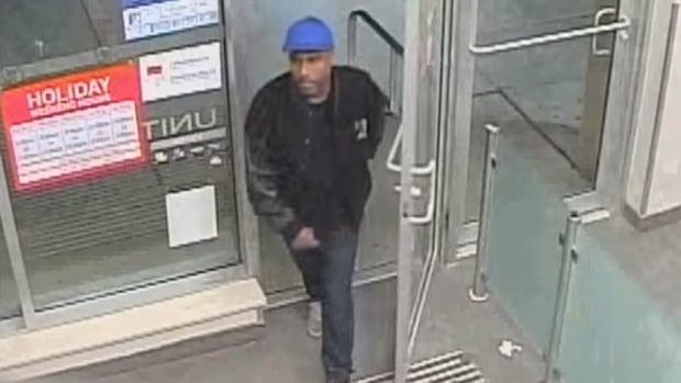 Chewing gum theft suspect