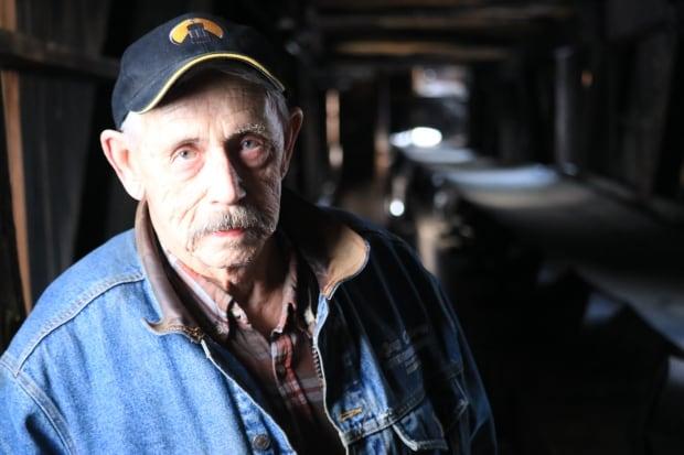 coal mine tipple Bob Moffatt inside