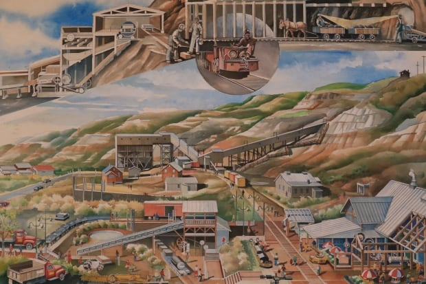coal mine tipple drawing