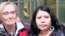 Carolyn Bennett and Lorelei Williams