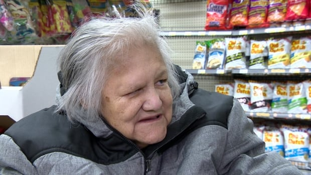 Diana Bignell says she'll have to start paying people for rides in order to get her groceries.