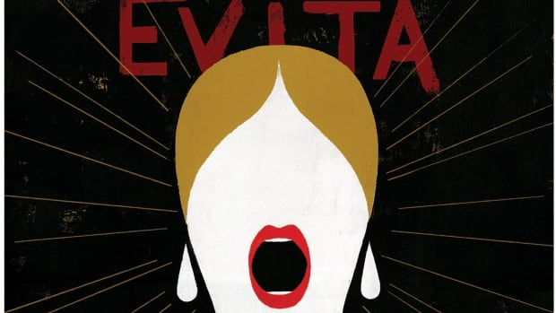 Vancouver Opera says it's still negotiating one of its contracts for its upcoming production of Evita because of the low Canadian dollar.