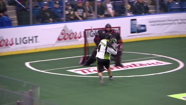 Saskatchewan Rush - Lacrosse - shoot
