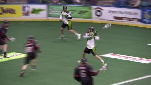 Saskatchewan Rush - Lacrosse - shot