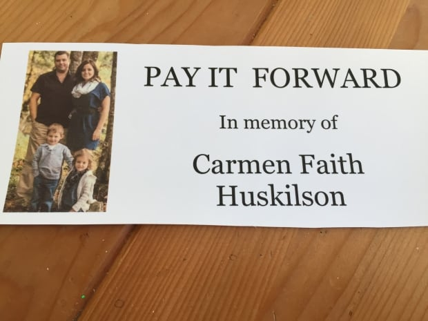 Cards in memory of Carmen Huskilson