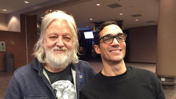 Greg Keelor (left) and Glenn Milchem, from Blue Rodeo, say winter tours are invigorating.