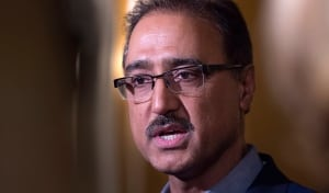 Federal Infrastructure Minister Amarjeet Sohi at cabinet retreat