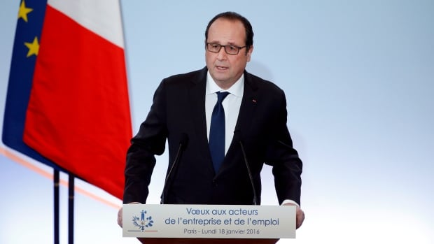 French President François Hollande announced a job-creation scheme on Monday worth two billion euros, as he tries to improve his chances in the 2017 presidential elections.