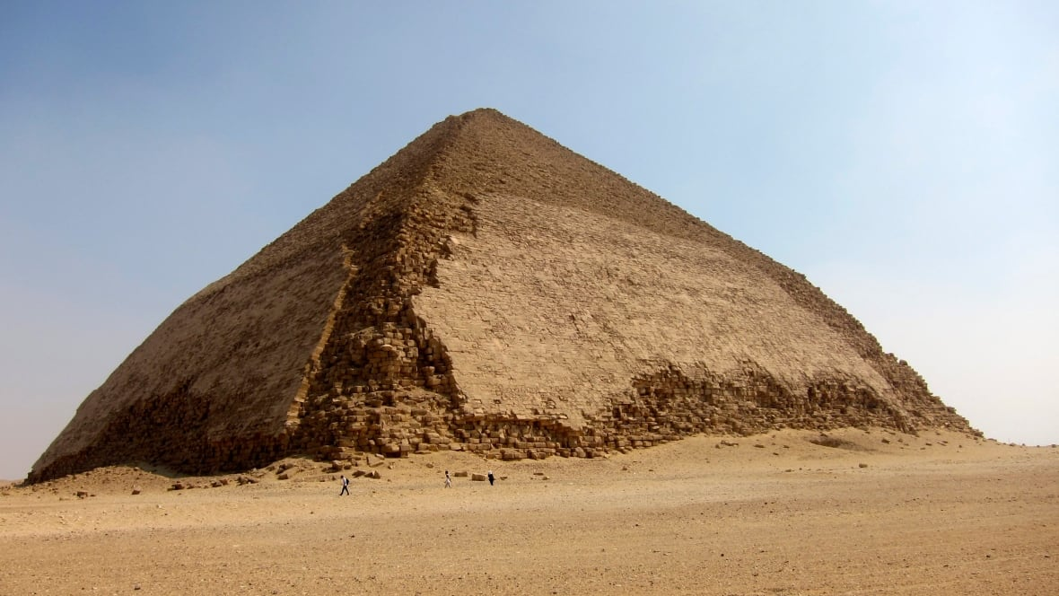 cosmic particles in egypts bent pyramid analyzed for