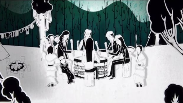 The Grandfather Drum is a Canadian animated short film that will play at the Winnipeg Aboriginal Film festival on Saturday Nov. 26.