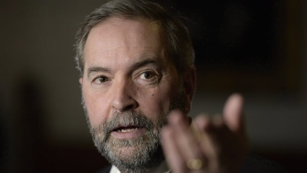 NDP Leader Tom Mulcair has written to party supporters to accept the blame for the NDP's poor showing in the 2015 federal election.