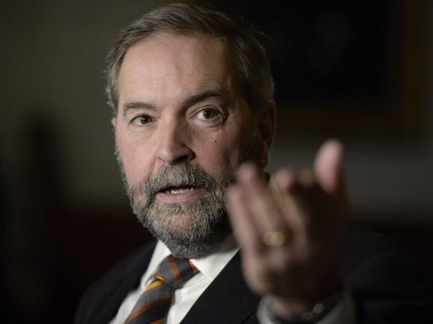 Five Things Mulcair 20151228