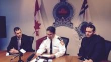 Thunder Bay police Levesque Harrison Tinnes