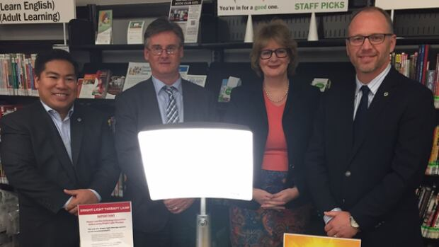 Two Winnipeg libraries now provide light therapy to sufferers of SAD or Seasonal Affective Disorder.