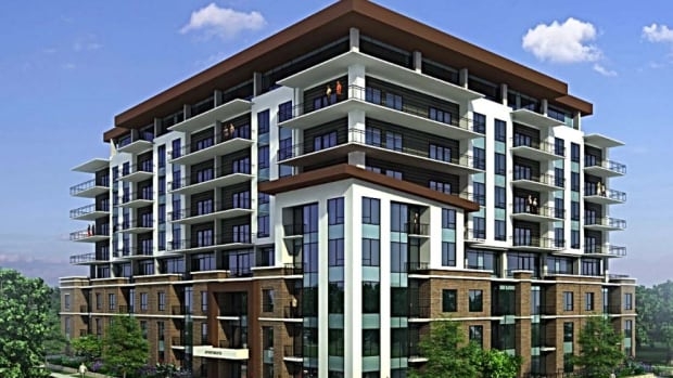 Mythos Developments Ltd. has increased its proposed building at the corner of North and Oxford Streets from seven to nine storeys, a difference of 25 apartment units