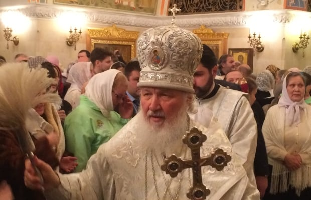 Patriarch Kirill of Russian Orthodox Church
