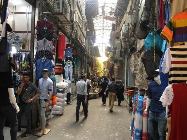 Main market in Tehran