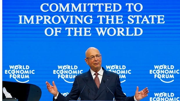 WEF executive chairman and founder Klaus Schwab welcomes the world's 'heaviest hitters' to the annual meeting of the World Economic Forum in Davos, Switzerland, Tuesday.