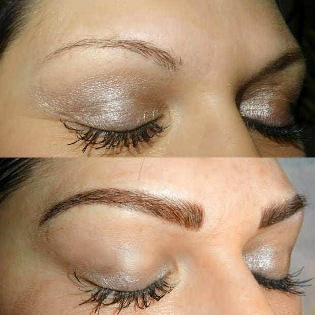 The brow factor eyebrow tattoos latest trend in beauty for Eyebrow tattoo images