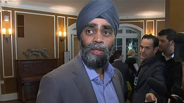 Defence Minister Harjit Sajjan has been under pressure in recent weeks to reveal details of Canada's plan to contribute to the fight against ISIS.