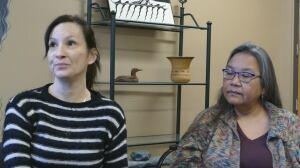 Cathy Mattes and Roberta McKinnon