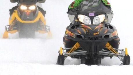 Snowmobilers CP 05856234