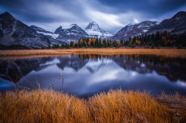 Mount Assiniboine BC by Callum Snape