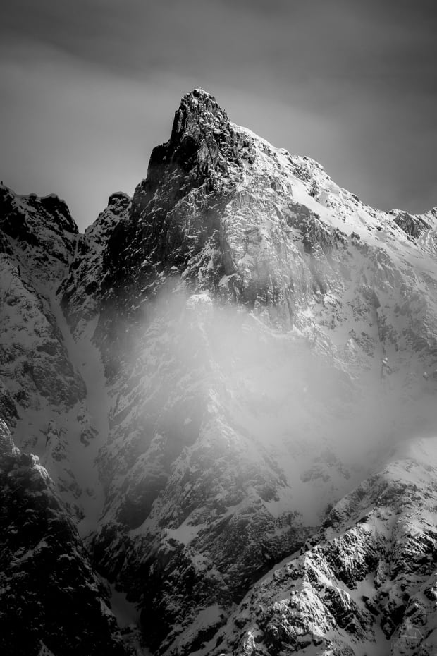 Unknown Peak in Yoho NP near Field BC by Callum Snape