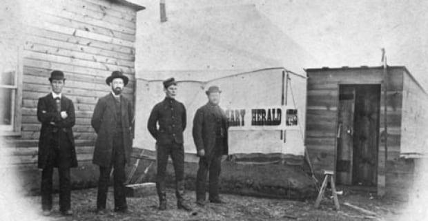 Calgary Herald offices