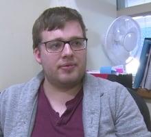 Johnathan Rix, vice-president UPEI student union