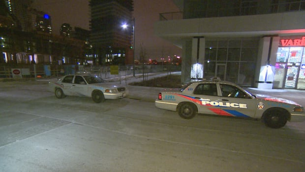 The stabbing happened around 10:15 p.m. last night in the Marine Parade Drive and Park Lawn Drive area.