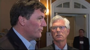 Dominic LeBlanc and Jim Carr