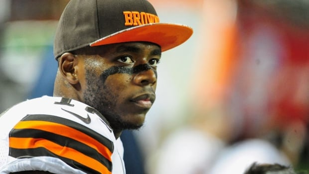Browns wide receiver Josh Gordon emerged as one of the NFL's rising young stars in 2013, when he led the league with 1,646 yards receiving.