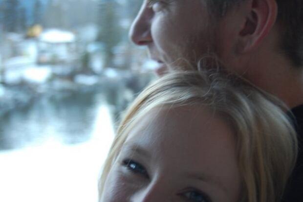 Laura Combden and her late boyfriend, Ryan Fox