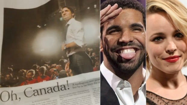 A New York Times article arguing Canada is suddenly 'hip' thanks to celebrities like Prime Minister Justin Trudeau, Drake and Rachel McAdams has drawn some backlash online.