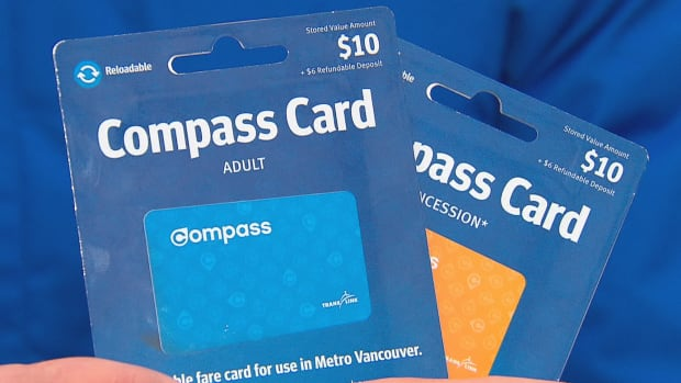 The new preloaded Compass cards are for sale at most FareDealers and come preloaded with $10 of stored value.