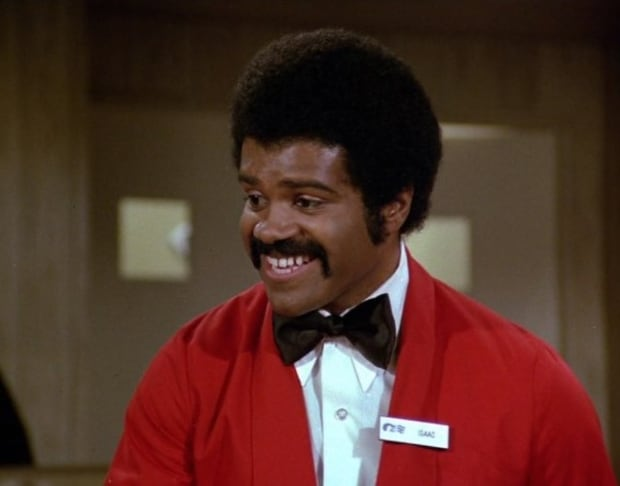 Ted Lange Issac Washington