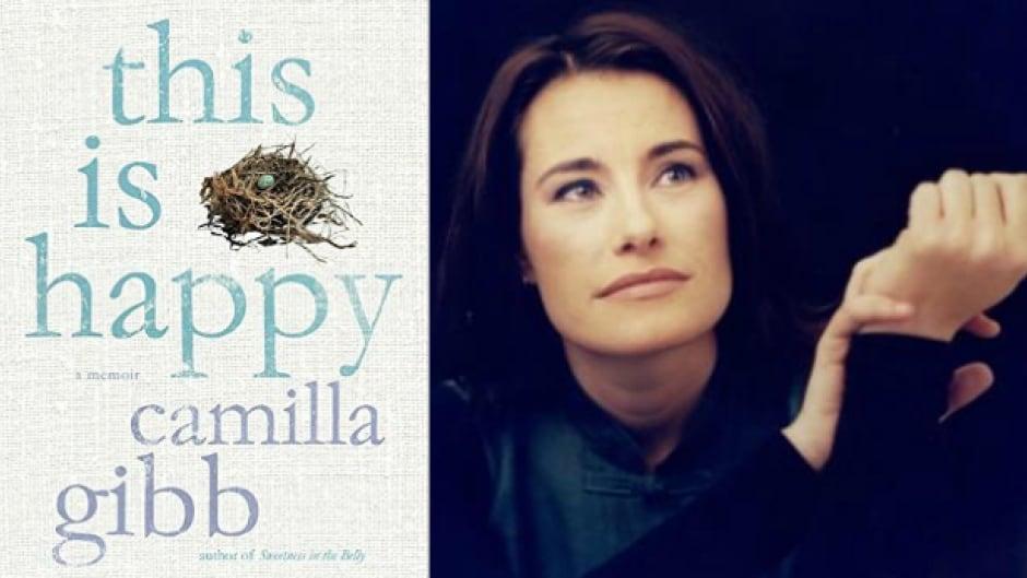 Camilla Gibb's memoir, This Is Happy, is on the shortlist for the RBC Taylor Prize. The winner will be announced on March 7.