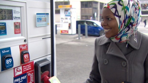 Nosaiba Mohammed is happy about the current gas prices. She says she's saving about $20 per tank, which is about $80 a month she can spend elsewhere.